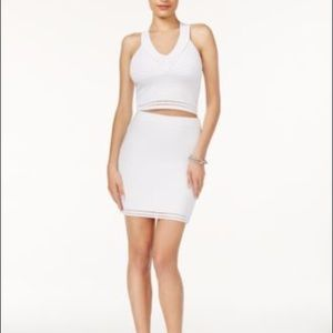 Guess 2 piece bandage top/skirt